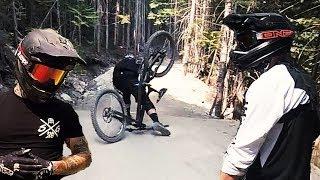 Downhill Anfänger im Bikepark Whistler - Kanada Trip | Fabio Schäfer Vlog #90