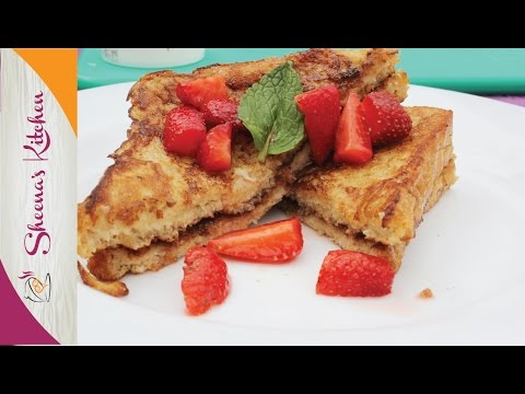 How to make TOAST MAYAI (kenyan French toast) // Nutella French Toast with strawberries