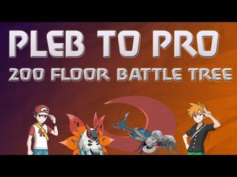 Battle Tree MimiLax 548 streak highlights (Pokémon Ultra Sun