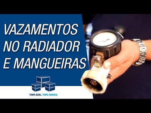 Como identificar vazamentos no radiador e nas mangueiras?