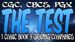 THE TEST 1 Comic Book 3 Separate Comic Grading Companies Shocking