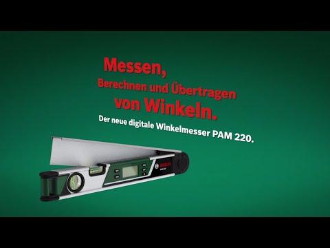 Bosch stellt vor: Winkelmesser PAM 220