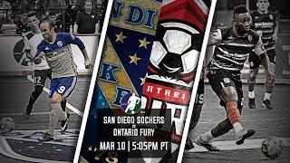 San Diego Sockers vs Ontario Fury