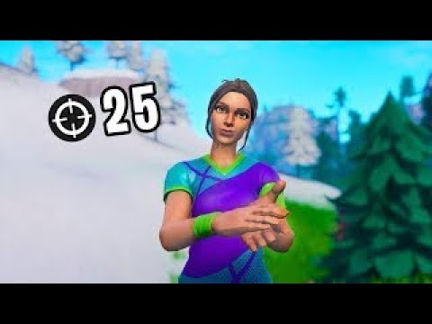 15 YEARS OLD 25 KILL GAME(SOLO) - CZ/SK FORTNITE