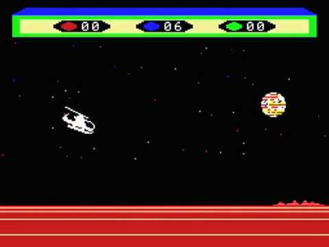 Choplifter Japan MSX Gameplay video Snapshot