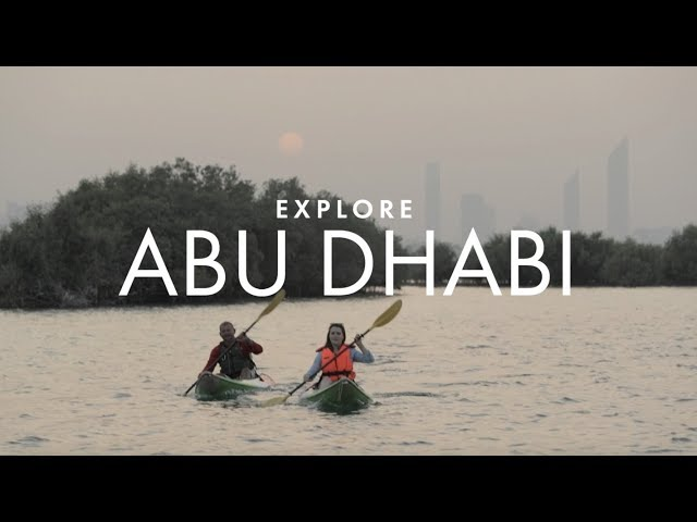 Kayaking through Abu Dhabi's secret wilderness