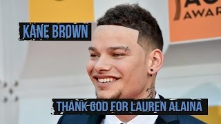 Kane Brown Credits Lauren Alaina For Finding His Voice