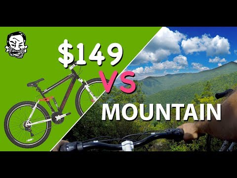 $149 Mountain Bike vs mountain – The Walmart Enduro