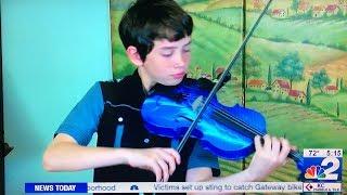 Alex featured on NBC-2