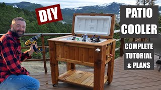 DIY of the Week - Cooler Ice Chest