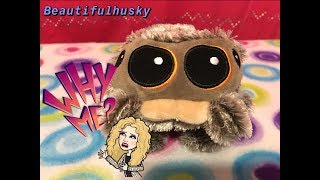 Upset with my Lucas the spider plush fast forward to 3:50! 😭