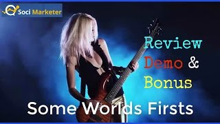 Soci Marketer Review Demo Bonus - Never Seen Before Facebook Software Suite