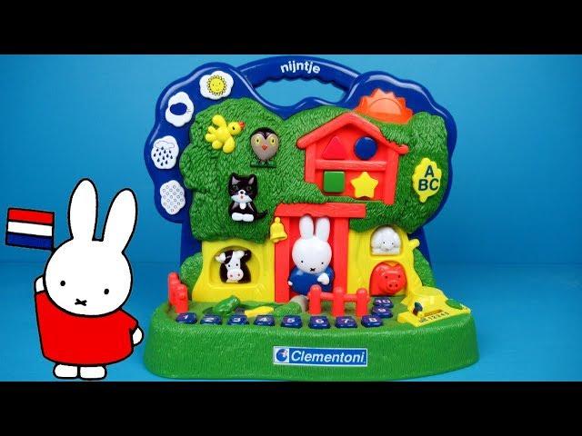 Nijntje Boomhuis van Clementoni   Miffy Treehouse Toy Unboxing