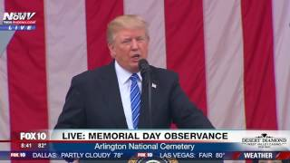 VERY TOUCHING: President Trump Honors Fallen Solider