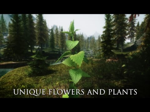 TES V - Skyrim Mods: Unique Flowers And Plants