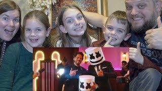 MARSHMELLO PRITAM | AMERICAN FAMILY REACTION