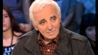 Charles Aznavour - On n'est pas couché 03 mars 2007 #ONPC