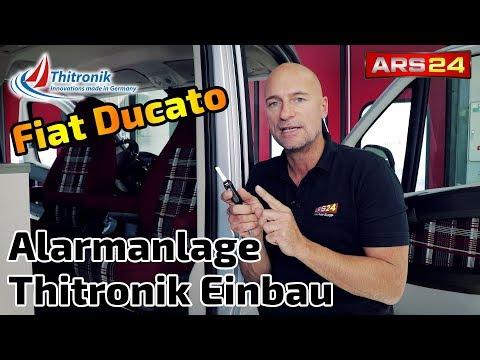 Sicherheit im Wohnmobil   Thitronik Alarmanlage im Fiat Ducato   ARS24