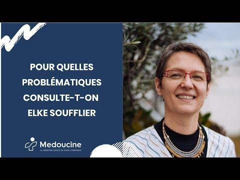 Pour quelles problématiques consulte-t-on Elke SOUFFLIER