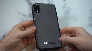 OtterBox SYMMETRY SERIES Case Black for iPhone XR Unboxing and Review