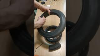 Покрышка 12 1/2 х 2 1/4 (57-203) Шина для детской коляски Tako, Adamex, протектор елка от компании Запчасти для детских колясок - видео