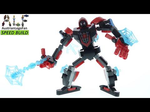 Vidéo LEGO Marvel 76171 : L'armure robot de Miles Morales