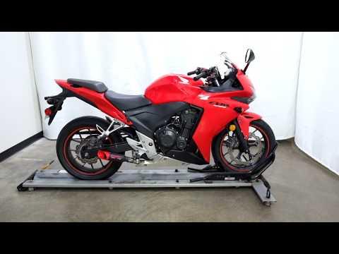 2013 Honda CBR®500R in Eden Prairie, Minnesota - Video 1