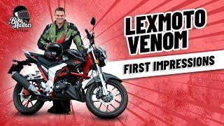 Lexmoto Venom EFI 125cc | First Impressions Road Test!