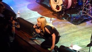 Chantal Claret - Burn It Down @ House of Blues in LA 4/15/14