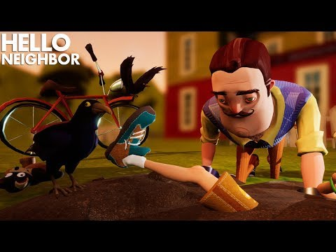 Hello Neighbor: Act 1 Full Gameplay - How to Get Red Key