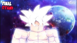 DRAGON BALL Z FINAL STAND | MASTERED ULTRA INSTINCT IS OUT!! | *SHOWCASES STATS AND SPECIAL POWERS*