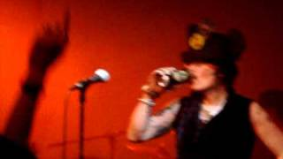 Adam Ant - Fall In and Deutscher Girls Live At London Scala Nov 2010