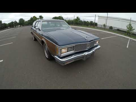 4K Review 1988 Oldsmobile Custom Cruiser Woody Station Wagon Virtual Walk-around & Test-Drive