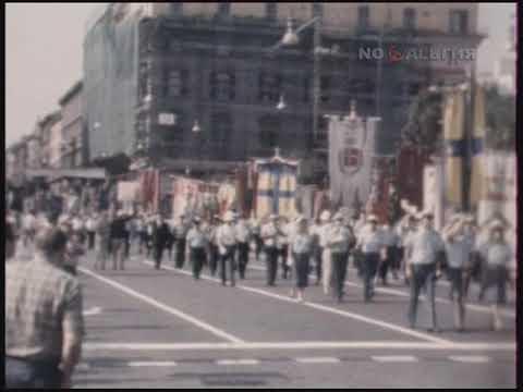 Италия. Болонья. Демонстрация протеста против террора 9.08.1985