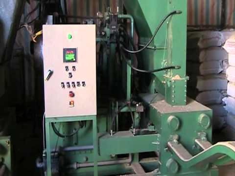Máy ép củi mùn cưa thủy lực - năng suất 400-500 kg củi mùn cưa/giờ