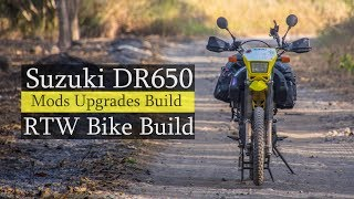 Suzuki DR650 Modifications Review // Building a RTW Motorcycle // Procycle