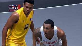 Semifinals Highlights: Philippines vs Thailand | 3X3 Basketball M | 2019 SEA Games