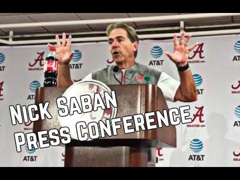 Nick Saban Press Conference - 8/24/2017
