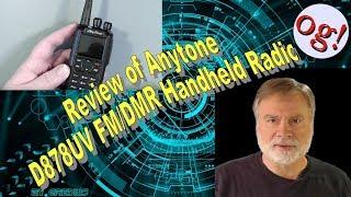 Review of Anytone D878UV FM/DMR Handheld Radio (#184