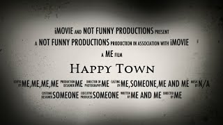 preview picture of video 'Movie Trailer - Happy Town'