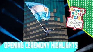 Opening Ceremony Highlights | Day 1 | YOG Buenos Aires 2018
