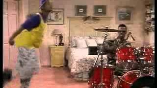 Fresh Prince of Bel Air, Jazzy Jeff on Drums & Dance NBC