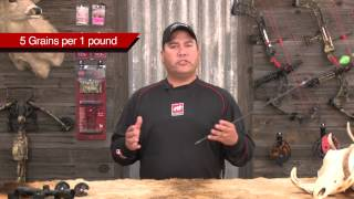 PSE Tech Tip – Proper Arrow Weight
