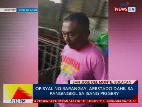 BP: Opisyal ng barangay, arestado dahil sa pangingikil sa isang piggery sa SJDM, Bulacan