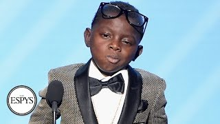 Jarrius Robertson's 2017 Jimmy V Award Acceptance Speech | The V Foundation | ESPN