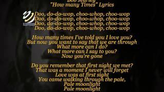Bob Marley 'How many times' (Lyrics-Letras)(HQ Audio)