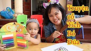 Truyện cổ tích bó đũa ❤️đất nặn nhiều màu sắc❤️ Fun Kids su