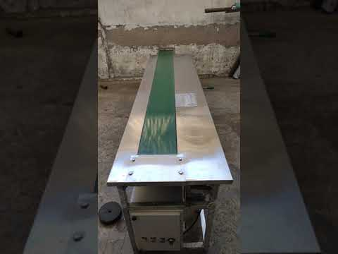 Stainless Steel Packing Belt Conveyor