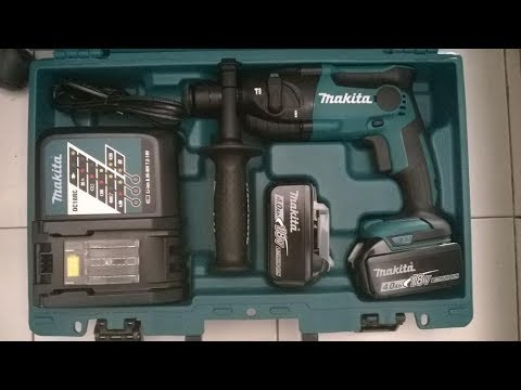 Обзор аккумуляторного перфоратора Makita DHR165