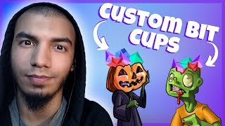 How To Make A Custom Bit Cup On Twitch - Plus FREE Bit Cup Graphics!